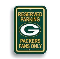NFL Green Bay Packers Parking Sign