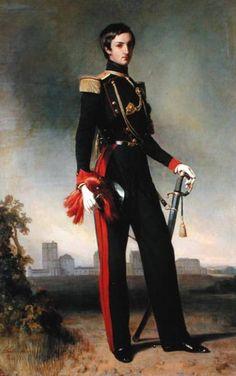 Antoine Orleans duc de Montpensier. 1844. Franz Xaver Winterhalter.