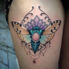 eilotattoo @eilotattoo Blue cicada from...Instagram photo   Websta (Webstagram)