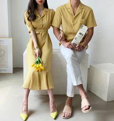 Iranian Women Fashion, Korean Fashion, Matching Couple Outfits, Fashion Couple, Korean Outfits, Fashion Outfits, Korean Couple, Clothing, Wedding
