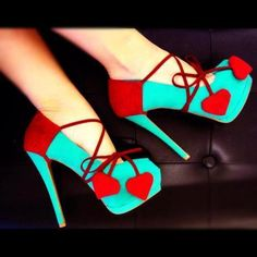 Queen of Hearts #diy #howto #shoes #hearts