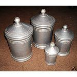 Wilton Pewter Canister Set....I missed buying this set...and have never found another set like these vintage pewter ones...