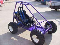 Custom Go Kart Frames | Trax II Offroad Mini Dune Buggy Sandrail GO Kart Plans | eBay