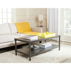Safavieh Bela Coffee Table - Cream : Target ($269-)