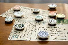 Handmade ceramic magnets