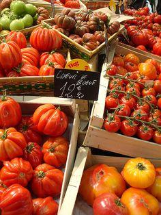 Tomatoes, Paris market