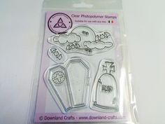 All Hallows Eve Stamp Set - Downland Crafts Hallows Eve, Halloween Crafts, Dots, Stamp, Crafting, Stitches, Stamps, Crafts To Make, Crafts