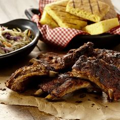Grill Mates® Sweet & Smoky Rub, a spicy blend of chipotle peppers, cinnamon, garlic and onion gives baby back ribs finger licking good flavor.