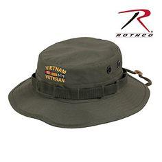 Rothco Vietnam Veteran Boonie Hat, Olive Drab, 7.5