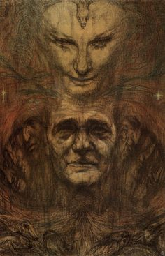Mind and Body, Austin Osman Spare, 1953