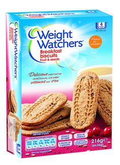 Weight Watchers Breakfast Biscuits. Would love to find these.