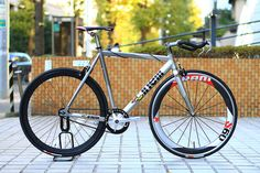 *CINELLI* #mash bolt complete bike by Blue Lug, via Flickr #cinelli #bike #fixed