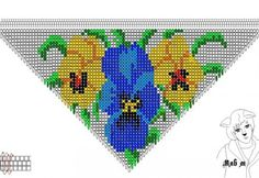 Beaded beads tutorials and patterns, beaded jewelry patterns, wzory bizuterii koralikowej, bizuteria z koralikow - wzory i tutoriale Seed Bead Tutorials, Seed Bead Patterns, Beaded Jewelry Patterns, Beading Tutorials, Beading Patterns, Seed Bead Flowers, Beaded Flowers, Cross Stitch Flowers, Cross Stitch Rose
