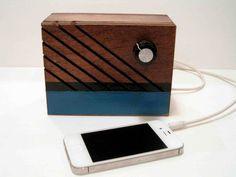 Boss Radios - handmade wooden MP3 speakers