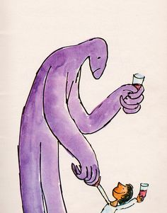 Monster // Quentin Blake