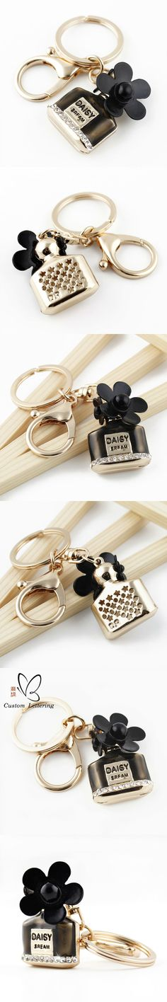 Charm Dio Perfume Bottle Keychain Crystal keyring Key Holder For Car HandBag Pendant Accessories Party Friend gifts Best Choice