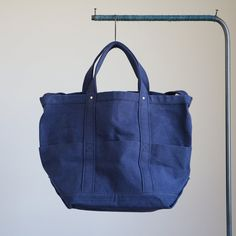 YAECA - Tool Bag - large #navy 「着楽(チャクラ/ciacura)」 三重県四日市市で洋服と器を販売