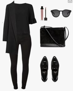 Chic and elegant. Black on black. Kris Jenner's outfit. # … – Chic and elegant. Black on black. Kris Jenner's outfit. Chic and elegant. Black on black. Kris Jenner's outfit. # … – Chic and elegant. Black on black. Kris Jenner's outfit. Mode Outfits, Fall Outfits, Casual Outfits, Fashion Outfits, Womens Fashion, Travel Outfits, Airport Outfits, Girly Outfits, Fashion Clothes
