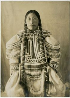 Portrait of Kee-wy-you - Inuit - Cape Fullerton - c. 1904.