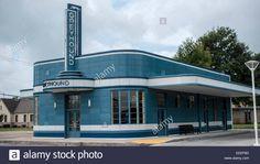 Preserved , Greyhound Station Blytheville Arkansas ,streamline Stock Photo, Royalty Free Image: 77765981 - Alamy
