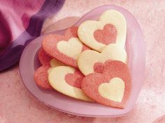 Valentine Rolled Cookies...I am using the Betty Crocker Sugar Cookie recipie from the 50's, which is amazing!
