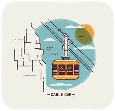 Cape Town illustrations - Wish You Were Here Calendar