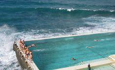 Bondi Icebergs' pool in Bondi Beach, Australia