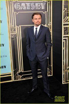 Leonardo DiCaprio at The Great Gatsby premier