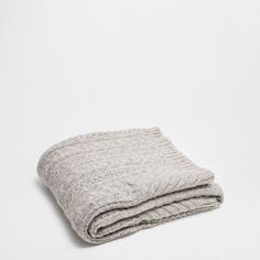 KNOTS KNIT THROW - Linen Collection - Bedroom | Zara Home United States of America