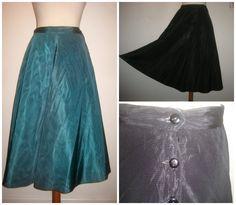 http://www.ebay.co.uk/itm/STUNNING-VINTAGE-1950S-50S-REVERSIBLE-WATER-MARK-SATIN-FULL-SKIRT-26-034-WAIST-/151508318112?