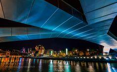 LA NOCHE DE BILBAO by josetxu #architecture #building #architexture #city #buildings #skyscraper #urban #design #minimal #cities #town #street #art #arts #architecturelovers #abstract #photooftheday #amazing #picoftheday