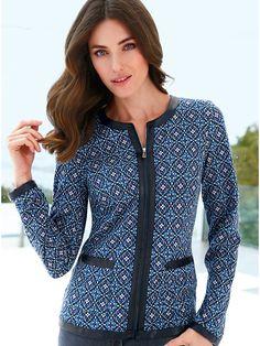 abb5775614d4e Peter Hahn - La veste - bleu multicolore Boutique En Ligne, Never