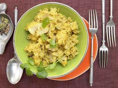 Blumenkohl-Reis-Pilaw - mit Kokosmilch und Kardamom - smarter - Kalorien: 400 Kcal - Zeit: 30 Min. | eatsmarter.de Kokosmilch und Kardamom verleihen diesem Gericht eine besondere Note.