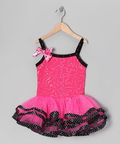 Look at this Popatu by Posh Hot Pink Sequin Skirted Leotard - Toddler & Girls on today! Cute Girl Outfits, Girly Outfits, Dance Outfits, Dance Dresses, Toddler Outfits, Kids Outfits, Toddler Girls, Bold Fashion, Cute Fashion