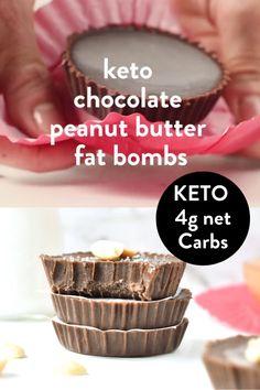 Mini Dessert Recipes, Keto Dessert Easy, Low Carb Chicken Recipes, Low Carb Recipes, Galletas Keto, Comida Keto, Keto Tortillas, Peanut Butter Fat Bombs, Keto Snacks