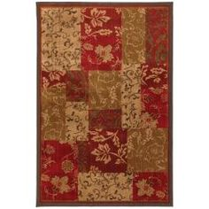 @Overstock - With beautiful style and natural colorations, this brown patchwork rug features a floral motif that goes in any traditional home. Perfect in a foyer or den, its earth-tone colors combined with rich, dark red create a warm, inviting atmosphere.http://www.overstock.com/Home-Garden/Patchwork-Brocade-Brown-Rug-8-x-11/5981354/product.html?CID=214117 $300.69