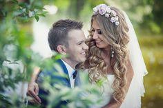 Весенняя нежная свадьба