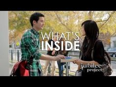 What's Inside | Jubilee Project Short Film - YouTube  <3 <3 I love this.