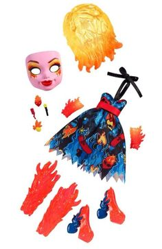 Monster High Inner Monster Fearfully Feisty Mood Pack NEW