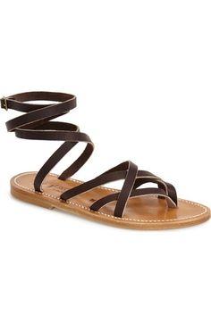 K.Jacques St. Tropez 'Zenobie' Ankle Wrap Sandal (Women) available at #Nordstrom