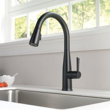 Essa Single Handle Pull Down Standard Kitchen Faucet with Touch2O®