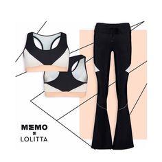 ❋ Coleção MEMO por Lolitta ❋ Look perfeito, para o treino perfeito!♡ #2behappy #memoporlolitta #sportwear #fitness #fashion