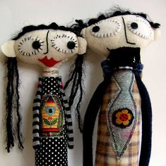 Nanette and Roger RESERVED FOR ERNA di yoborobo su Etsy