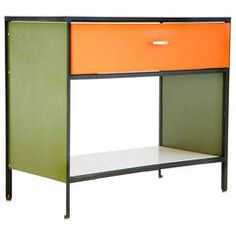 George Nelson Steel Frame Case   From a unique collection of antique and modern cabinets at https://www.1stdibs.com/furniture/storage-case-pieces/cabinets/