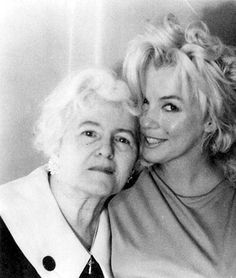Marilyn Monroe and Anna Karger, 1962.