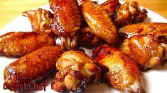 Honey Bourbon Chicken Wing Nibbles - RECIPE