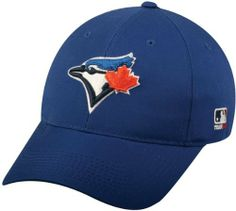 02d5289cebc 2012 Adult Toronto Blue Jays Home Blue Hat Cap MLB by Team MLB - Authentic  Sports
