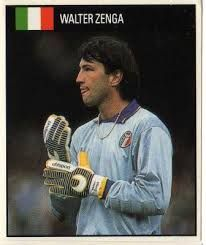 Aalter Zenga During his playing career, Zenga was part of the Italian squad that finished fourth at the 1984 Olympics in Los Angeles, USA and the World Cup squad that finished third in the 1990 World Cup tournament held in Italy, in which Zenga started every game for the Azzurri.