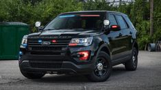 The cop-spec 2017 Ford Explorer, known as the Interceptor Utility, is by design pretty tough to pick out from the popular civilian version. Now the police vehicles will be blending in even better. Swat Police, Police Truck, Ford Police, Police Gear, Fbi Car, Radios, Emergency Vehicles, Police Vehicles, Rescue Vehicles