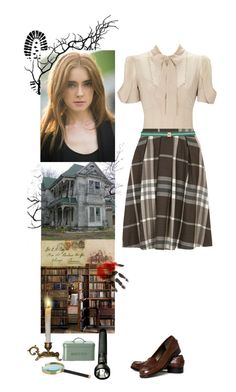 """""""Nancy Drew"""" by a-romantic-at-oxford ❤ liked on Polyvore featuring Talbots, Dorothy Perkins, Garden Trading, SIYU, women's clothing, women, female, woman, misses and juniors"""
